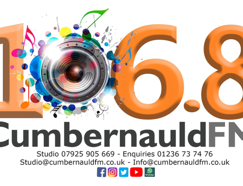 Cumbernauld FM 106.8FM On-Air